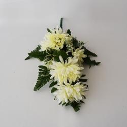 Kytica chryz. biela 50cm