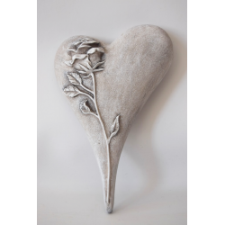 Srdce - ruža