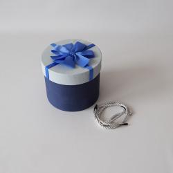 Papierová krabica okrúhla