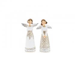 Anjel krajka biely so...