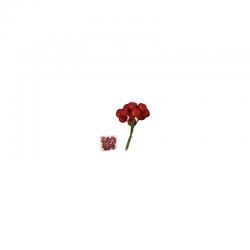Zápich guličky S/72 červené