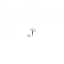 Zápich guličky S/72 biele