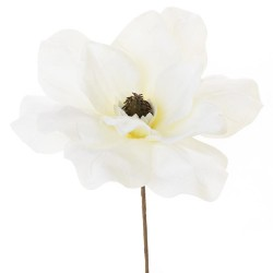 Vianočný kvet biely 20cm