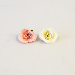 Hlava ruža biela/losos