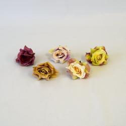 Hlava ruža mix 12/bal.