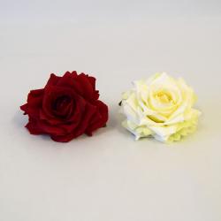 Hlava ruža b/č 8cm