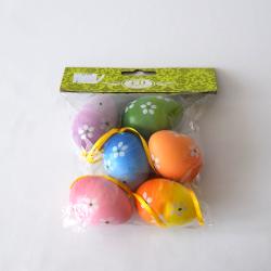 Vajíčka MIX 4x6cm S/6